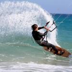 Kiten und Surfen